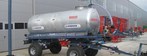 Cisterna De Apa Agricola Tractata De Tractor RUSALKA