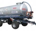 Cisterna de apa tractata de tractor, RUSALKA