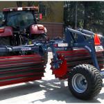 Tocator resturi vegetale dupa tractor